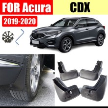 Mud flaps For Acura CDX Mudguards Fender CDX Mud flap splash Guard Fenders car accessories auto styline Front Rear 4 pcs