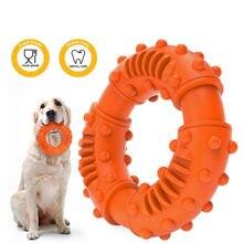 Zabawki Dla psów średnia i duża odporna na ugryzienia trening molowy zabawka spinner TPR czyszczenie zębów akcesoria Dla zwierząt Perros Dla Psa Cachorro
