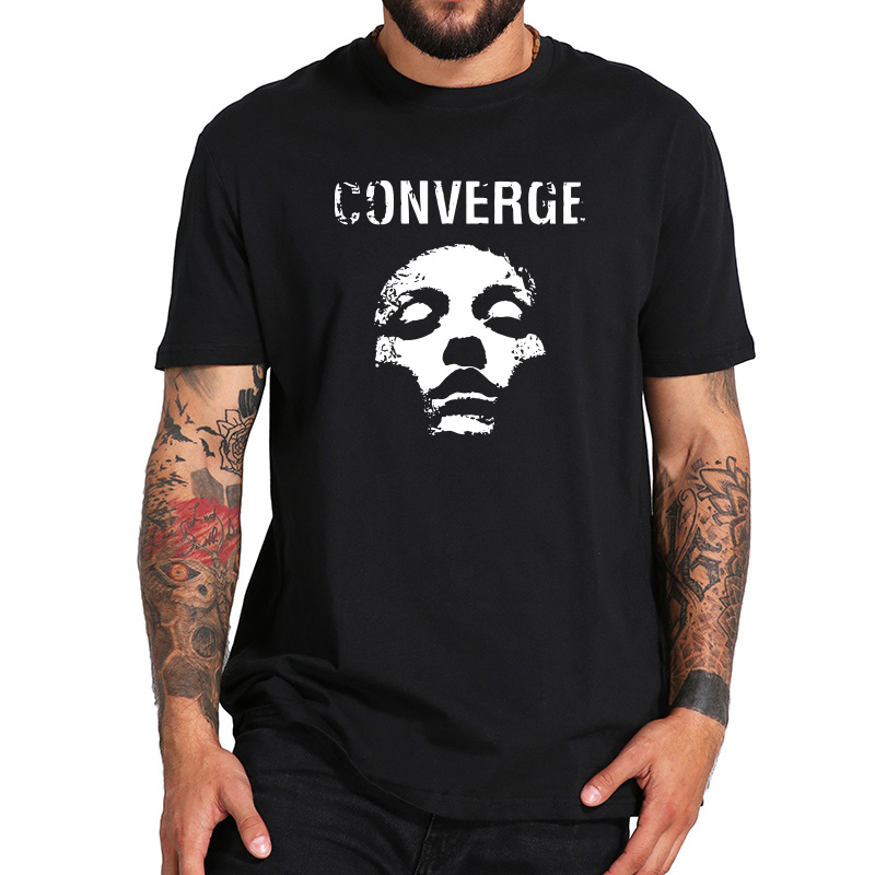 Converge T Shirt Fourth Album Jane Doe Tshirt American Metalcore Band Pure Cotton Comfortable Soft Short Sleeve Camisetas image