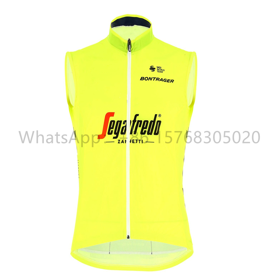 TREKKING 2020 Pro Team Cycling Jersey Men Sleeveless Windproof Water Repellent Lightweight Breathable Mesh Bike Vest Ciclismo