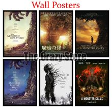 A Monster Calls Film White Kraft Paper Poster Home Decor Painting classic prints 42X30cm a monster calls