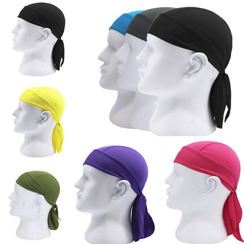 Breathable Cycling Bandana Bicycle Cap Outdoor Sports Motor Cycle Head Scarf Multi Function Men Women Bicycle Bike Headwear