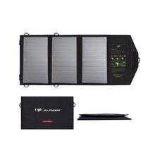 Ładowarka słoneczna podwójne szybkie ładowanie USB dla iPhone 6 7 8 X Xr Xs Max 11 Pro iPad Air Huawei P20 30 Mate Pro Samsung Xiaomi 10