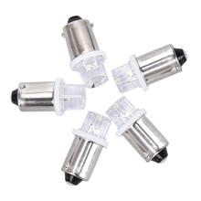 5 шт. BA9S светодиод индикатор лампа номер табличка лампа 24 В Ba9s 3 В светодиод Ba9S 6 В прибор лампа 4,5 В 12 В Ba9S