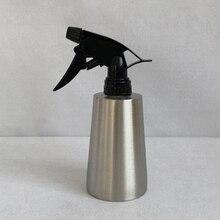Stainless Steel Water Spray Bottle Flower Plant 350ml Home Silver Watering Unisex Pot Gourd Garden Supplies