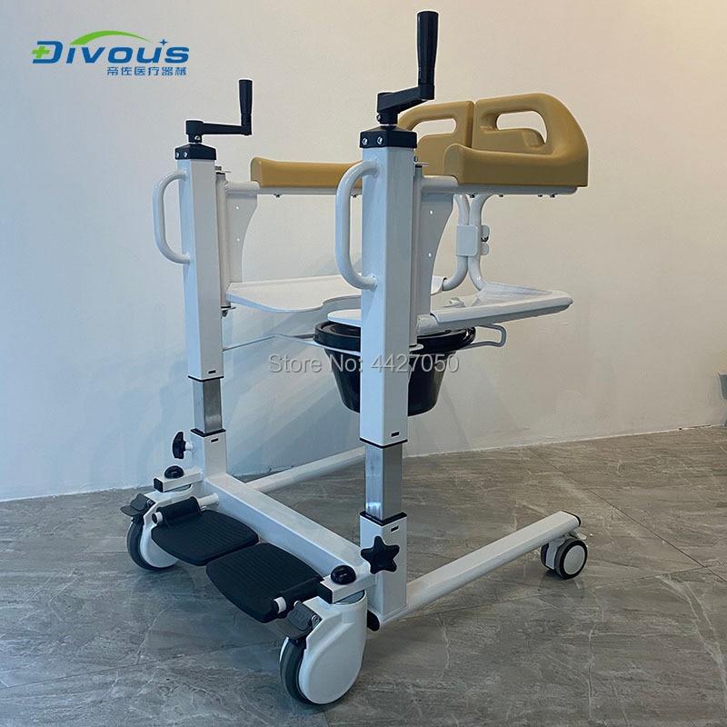 Хорошее качество, портативные подвижные стулья, туалет, ванная, комод для инвалидной коляски, подшипник из полиэтилена 120 кг