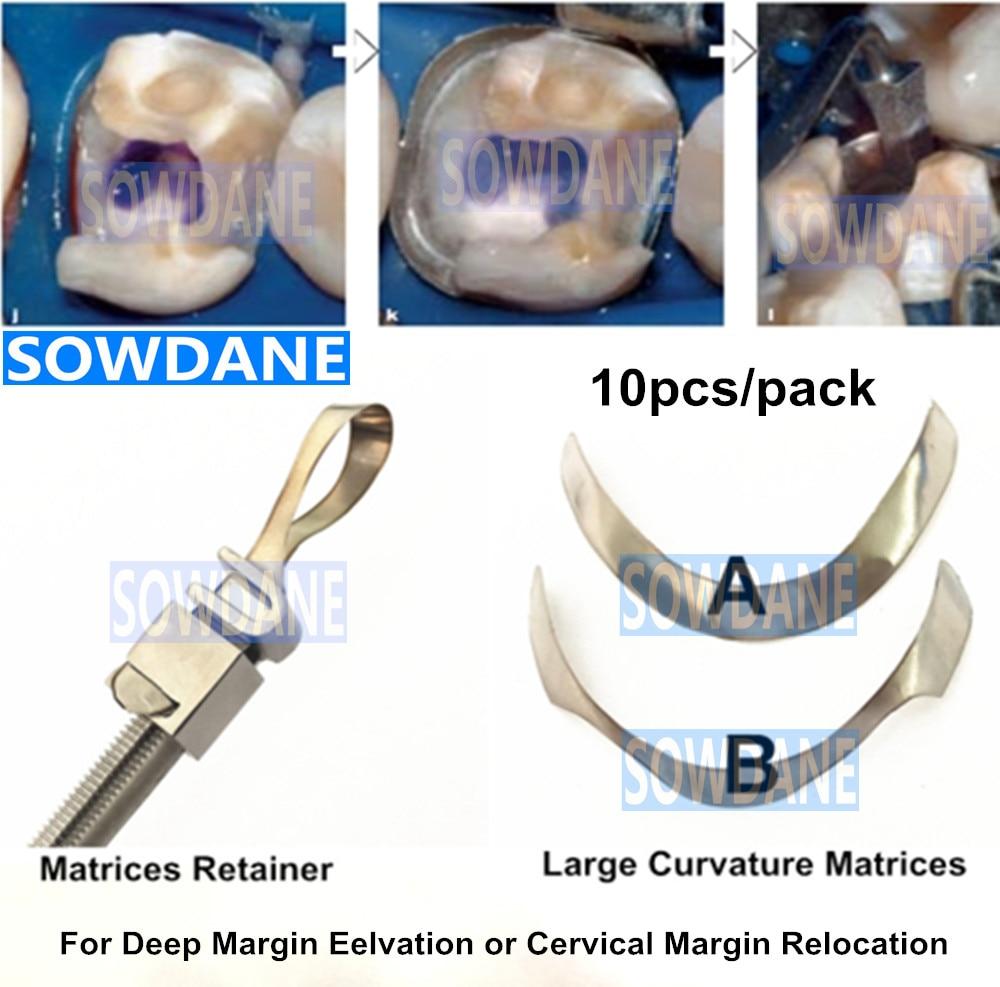 Dental Tofflemire Matrix For Deep Margin Elevation Large Curvature Matrices Retainer Sectional Contoured Matrice Dental Material
