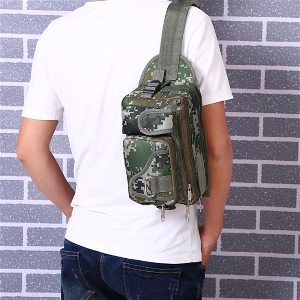 Рыбалка сумка 36x16x9 см многофункциональный камуфляж открытый рыбалка снасти рюкзак водонепроницаемый пояс сумка быстрая доставка