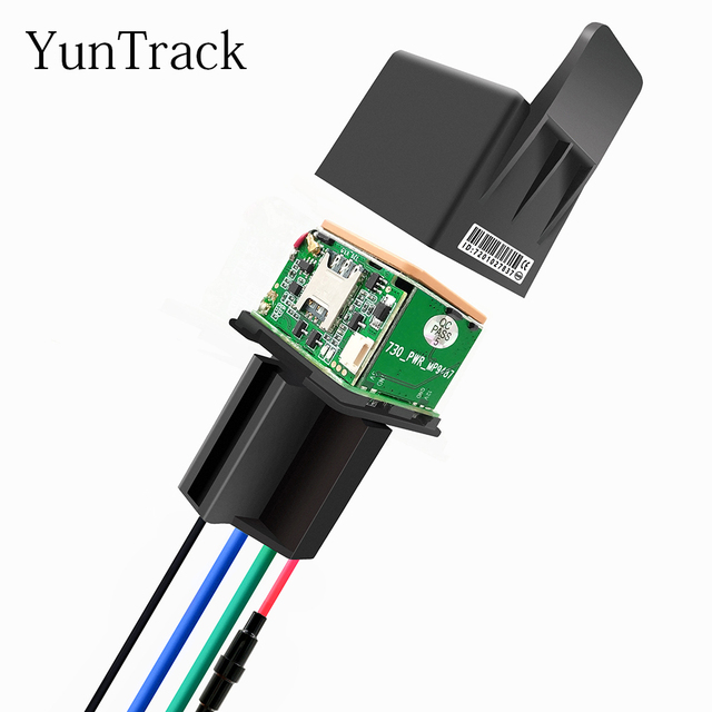 Car Tracking Relay GPS Tracker Device GSM Locator Remote Control Anti-theft Monitoring Cut off oil power System APP CJ720 1