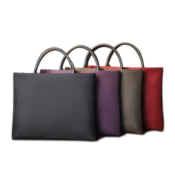 Office Waterproof Briefcase File Bag A4 Oxford Cloth Bag Multi-function Portable File Package
