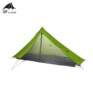 Image 5 - 3F UL GEAR ufficiale Lanshan 1 pro Tenda Esterna 1 Persona Ultralight Tenda Da Campeggio 3 Stagione Professionale 20D Silnylon Senza Stelo