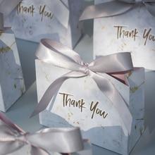 Новинка, креативная Подарочная мини-коробка из серого мрамора для вечерние НКИ, бумажные коробки для детского душа, шоколада, упаковка/свад...