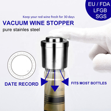 Vacuum Wine  Stopper Storage Twist Cap Plug Reusable Sealed Red Bottle stopper Bar tools kitchen Accessories