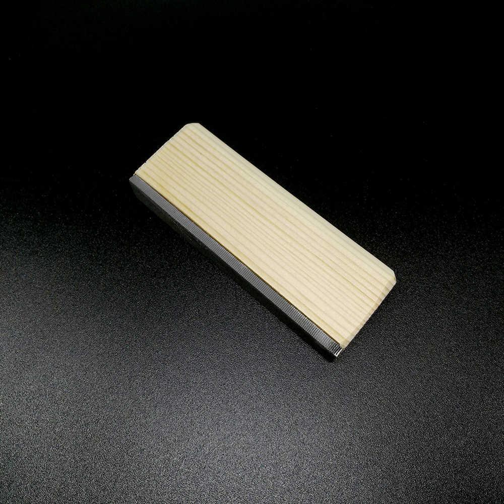 Outil de bord en érable dur pour fichier de Fret de guitare Portable outils de polissage professionnels pour guitares frettes accessoires d'entretien de guitare