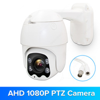 1080P AHD Speed Dome Camera IR Night Vision AHD PTZ CCTV Surveillance Camera XM XVI Coaxial Control