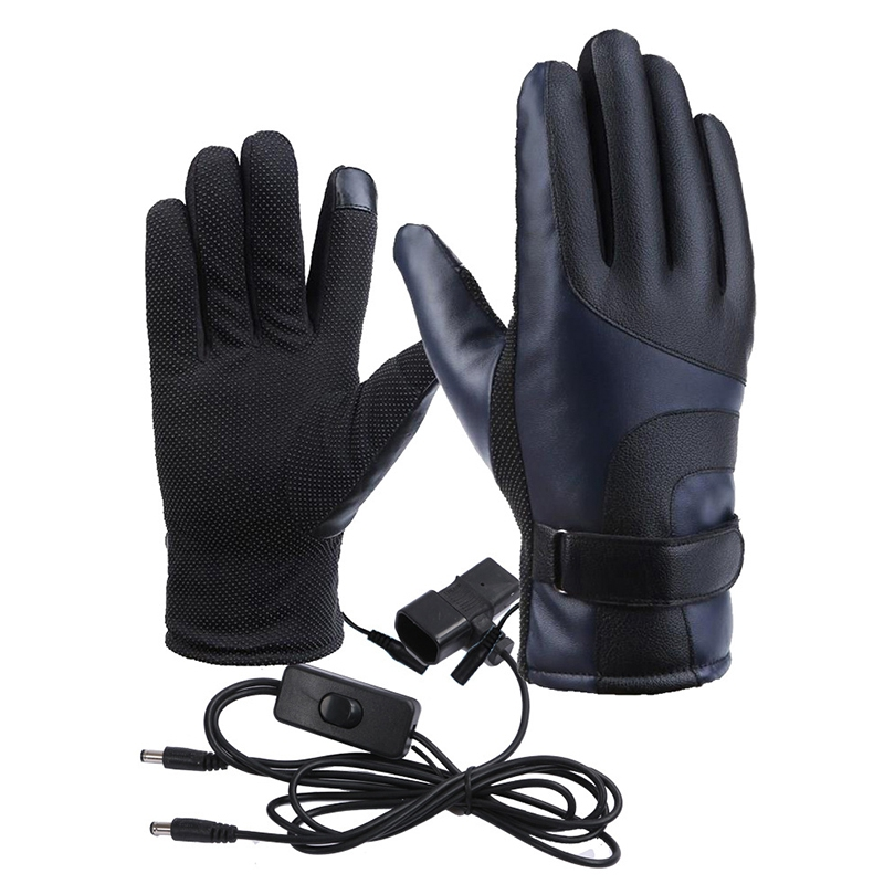 Winter Four-Speed Thermostat Charging Warm Electric Car Heating Gloves Motorcycle Electric Gloves