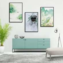Современный натуральный светильник элегантный Зеленый Лотос