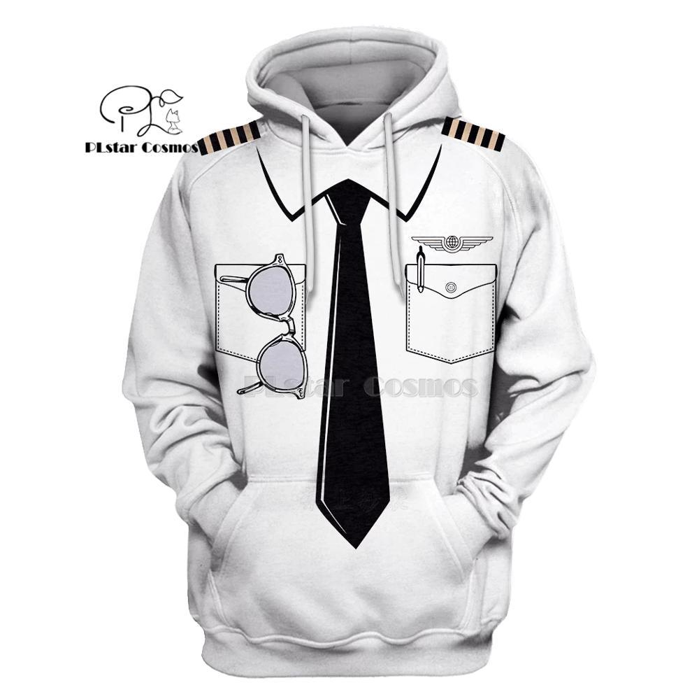 PLstar Cosmos Pilot Uniform Costume 3d Hoodies/shirt/Sweatshirt Winter Autumn Funny Harajuku Halloween Party Cosplay Streetwear2