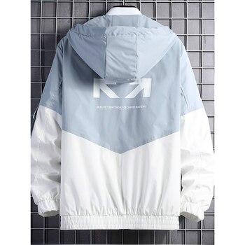 2020 spring and autumn clothes Men Jacket Size 3XL  4
