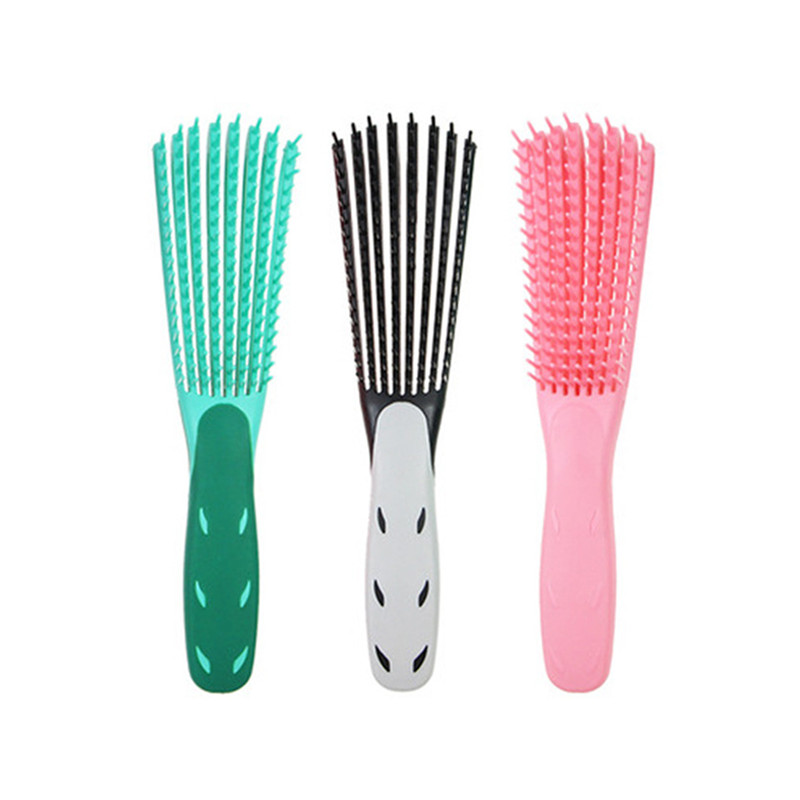Mint Black/green/Pink Hair Brush Scalp Massage Comb Women Detangle Hairbrush Comb Health Care Reduce Fatigue 1pc