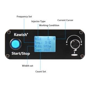 Image 5 - Kawish! مجموعة أدوات اختبار حاقن السكك الحديدية المشتركة KW608 ، جهاز اختبار فوهة حاقن السكك الحديدية المشتركة S60H