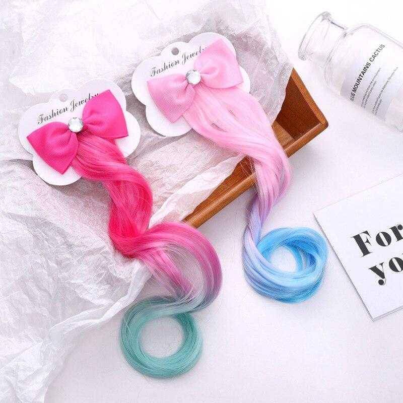 20Pc Colorful Bow Hairpins Hair Barrette Kids Cute Baby Girl Headwear Hair Clip