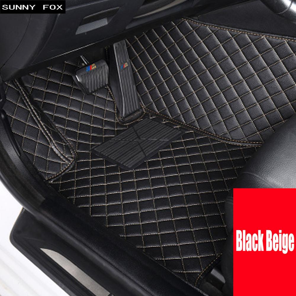 Car floor mats made for Kia Soul K7 Cadenza 5D heavy duty foot case anti slip car styling carpet rugs liners (2010 )