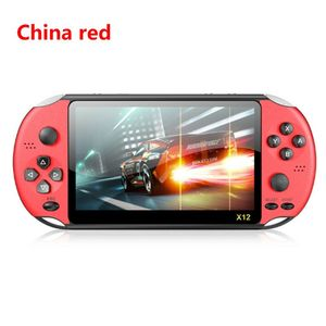"Image 5 - X12 5.1"" Colorful Screen Retro Game Console 128Bit Handheld Game Host Machine"