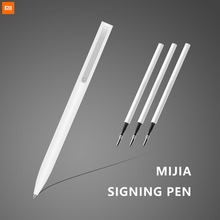 Xiaomi Mijia Original Sign Pen MI 9.5mm Signing PREMEC Smooth Switzerland Refill MiKuni Japan Ink (Black/Blue) Best Gift