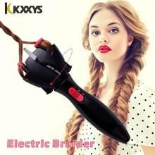 Trenzador de pelo eléctrico automático, dispositivo para tejer, máquina de Cabello trenzado, peinado, Cabello, rizador, herramienta DIY