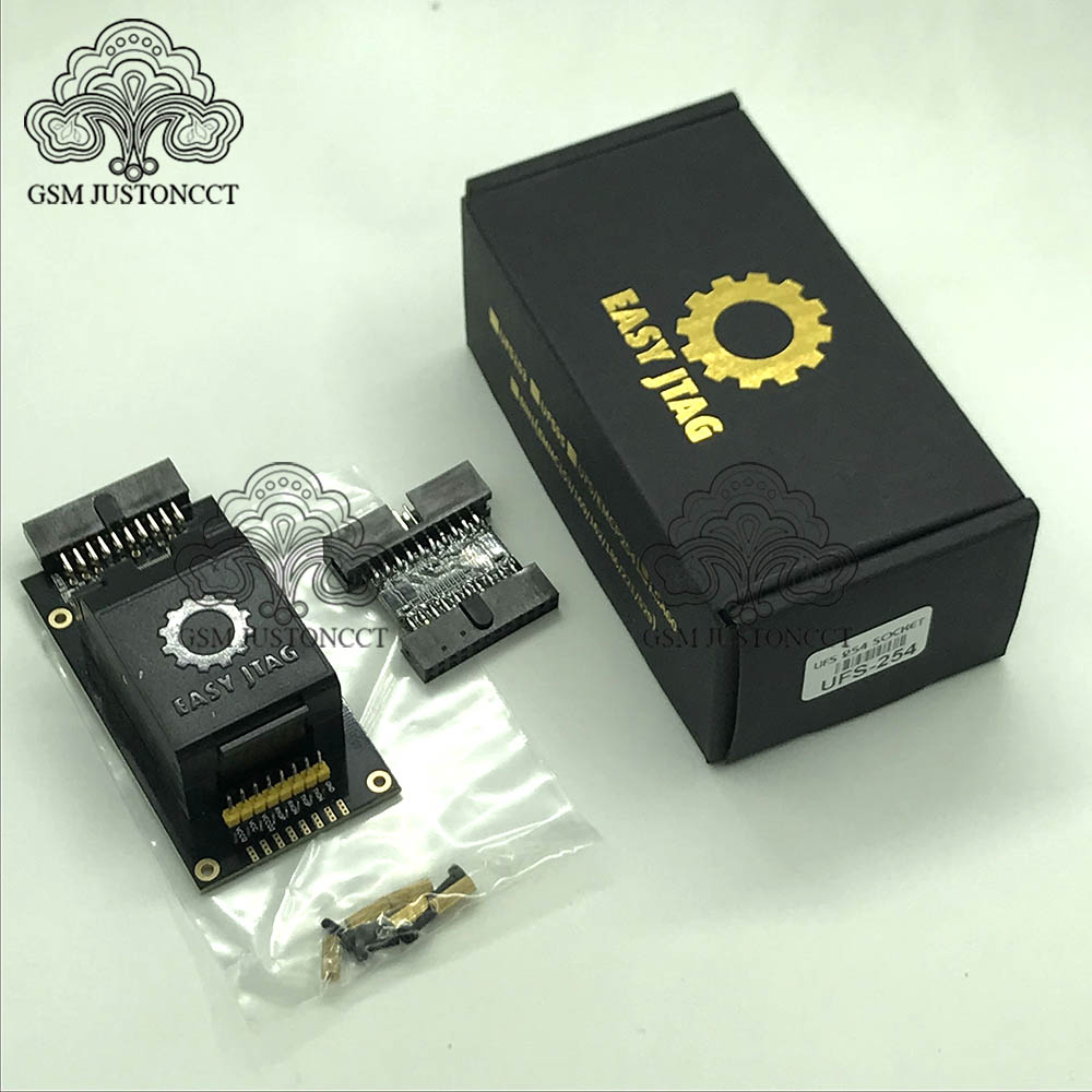 2020 Easy Jtag Plus Box UFS BGA 254 Sockets Adapter