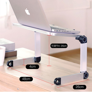 Image 2 - Mini Laptop Stand Lap Desk for Bed Couch Folding Adjustable Multifunctional Ergonomic Height 360 Degree Angle