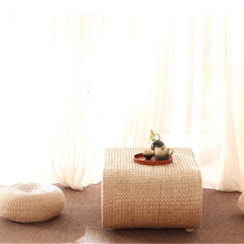 Japanese Style Platform Tatami Coffee Table Table Kang Table Small Coffee Table Balcony Home Zen Low Table Gras Woven Lazy Chair