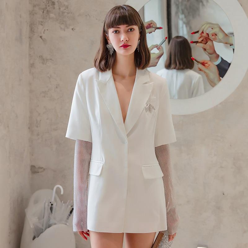 Купить модное женское белое пальто yigelila элегантное шикарное верхняя