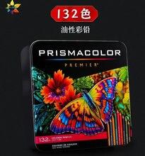 132 pack USA Prismacolor Premier Crayons De Couleur bois Couleur crayon dessin peinture papeterie Sanford doux huileux Couleur crayon