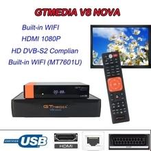 Stable freesat v8 nova satellite receiver USB 2.0 1080P HD DVB-S2 DC12V/1.5A Satellite Decoder gtmedia v8 nove finder receptor