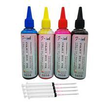 4x100 мл краситель чернила для Epson рабочей силы WF-3620DWF WF-3640DTWF WF-7110DTW WF-7610DWF WF-7620DTWF принтер 4 бутылки чернил