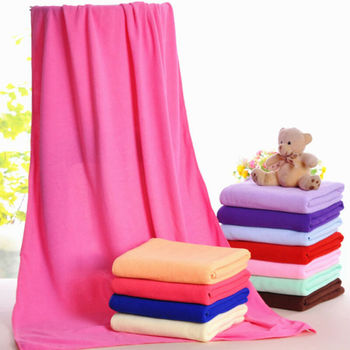 140x70cm Microfiber Absorbent Fast Drying Bath Towel Beach Towel Washcloth Shower Towels Cloth Sports Gym Travel Swimming Yoga