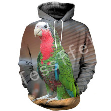Tessffel Animal parrot Harajuku MenWomen HipHop 3Dfull Printed Sweatshirts/Hoodie/shirts/Jacket  Casual fit colorful camo Style1