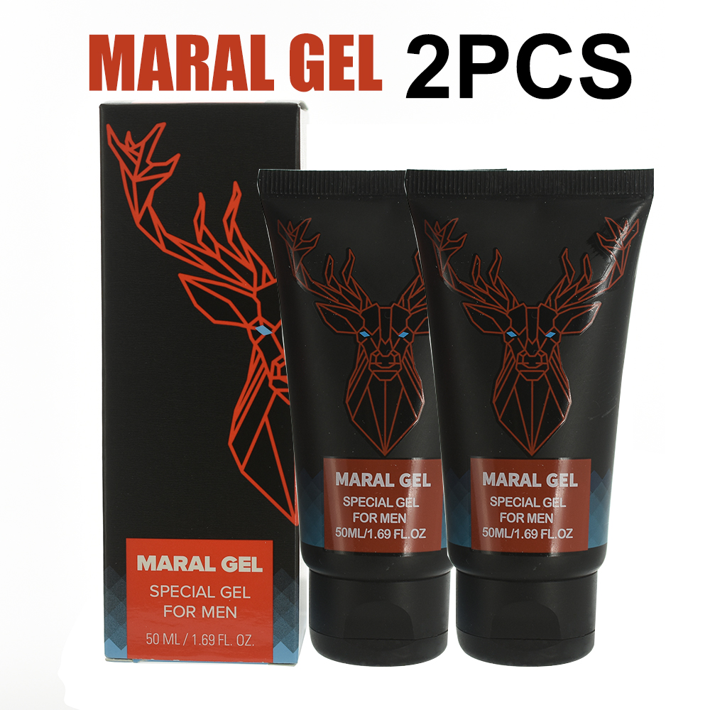 2pcs Original Russian Maral Gel Penis Enlargement Cream Increase Xxl Penis Enhancer Grow Stronger Sex Lasting Long Viagra Pills