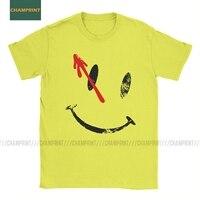 Camiseta de manga corta de algodón para hombre, camisa de la serie de la película Smiley, El dr. Brooklyn, nuevo, héroes de Alan, es una broma, Watchmen, Original