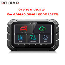 One Year Update Authorization For GODIAG GD801 OBDMASTER Odometer Correction Device