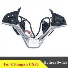 พวงมาลัยสำหรับChangan Cs55 Multifunctionalพวงมาลัยปุ่มควบคุมเสียงCruiseปุ่มสวิทช์อุปกรณ์เสริม