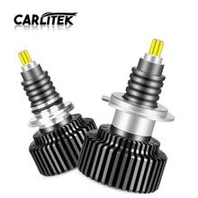 CARLitek 24 הצדדים H7 LED הנורה 50W h4 18000LM 12V אוטומטי אור 72 PCS CSP שבבי HB4 HB3 LED 9005 9006 רכב פנס H8 H11 led מנורה