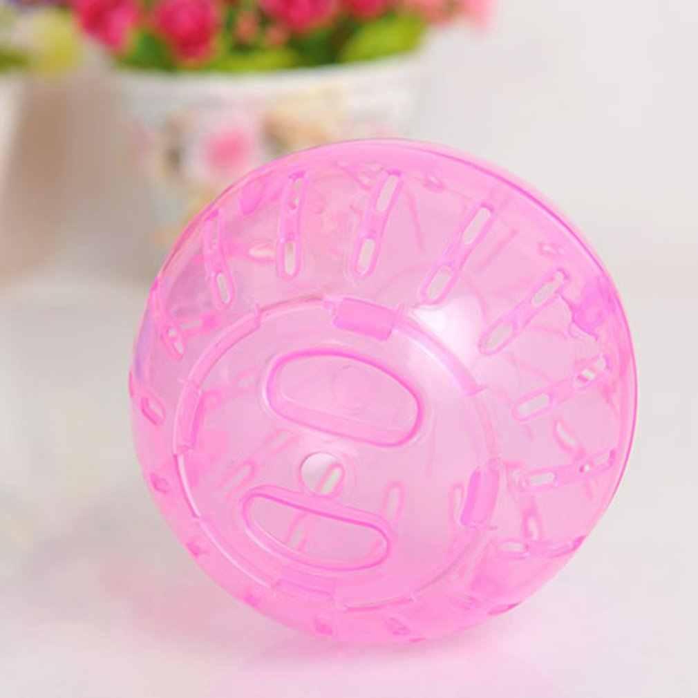 高輝度カラーペット演奏おもちゃプラスチックペット齧歯類マウスジョギングボールおもちゃハムスター Gerbil ラットエクササイズボール再生おもちゃ