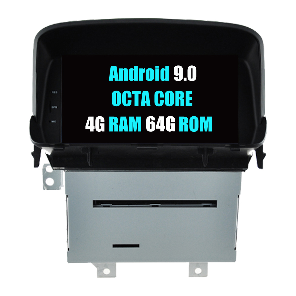 RoverOne Auto Radio DVD GPS Fü<font><b>r</b></font> Opel <font><b>Mokka</b></font> Android 9.0 Octa Core Touchscreen Multimedia-Player Kopf Einheit Bluetooth PhoneLink image
