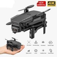 Zlrc kf611 mini zangão com 4k câmera hd 1080p wifi câmera fpv rc zangão altitude hold dobrável rc quadcopter dron e88 m73