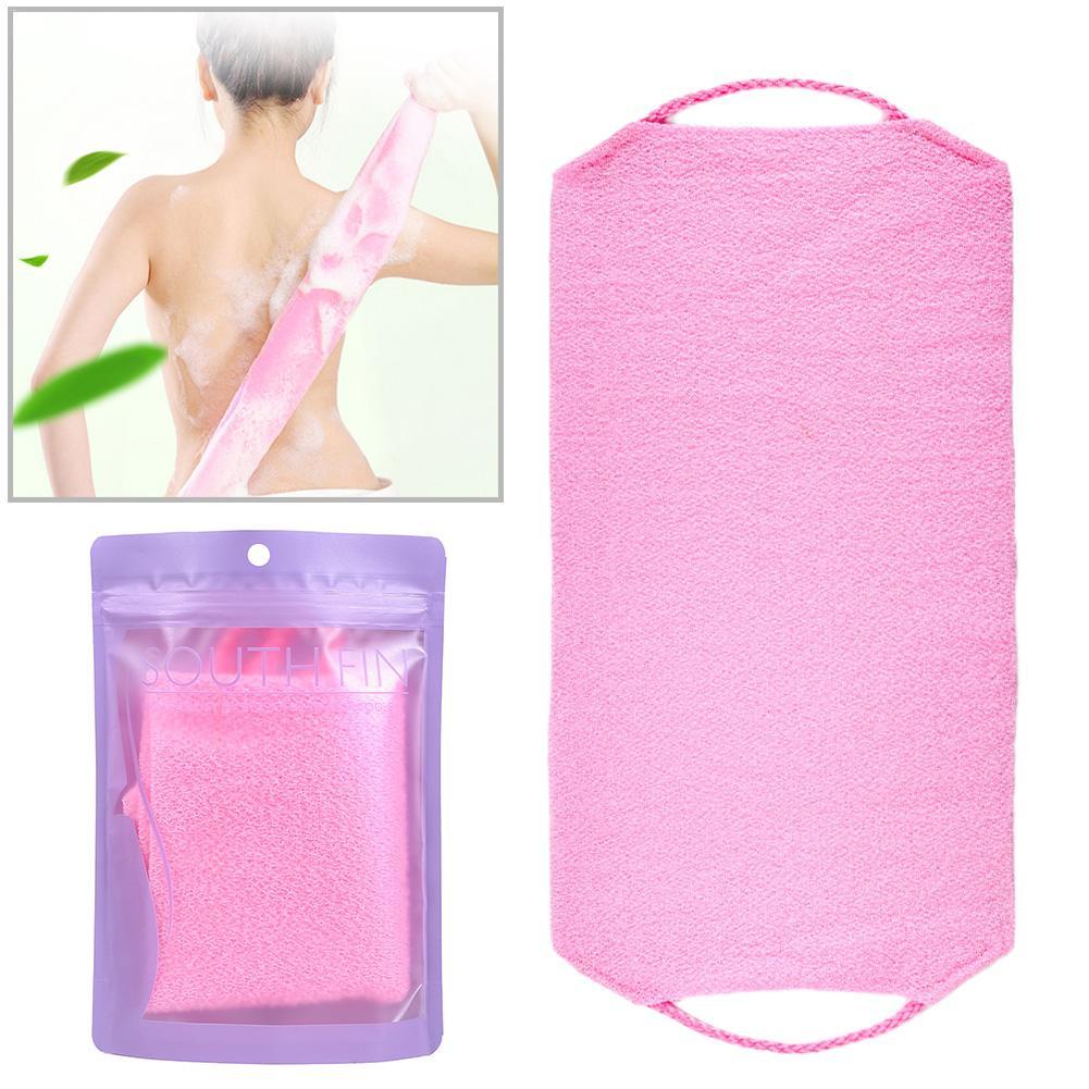 New Natural Soft Exfoliating Massage Back Strap Shower Bath Towel Shower Massage Spa Scrubber Sponge Body Skin Health Cleaning