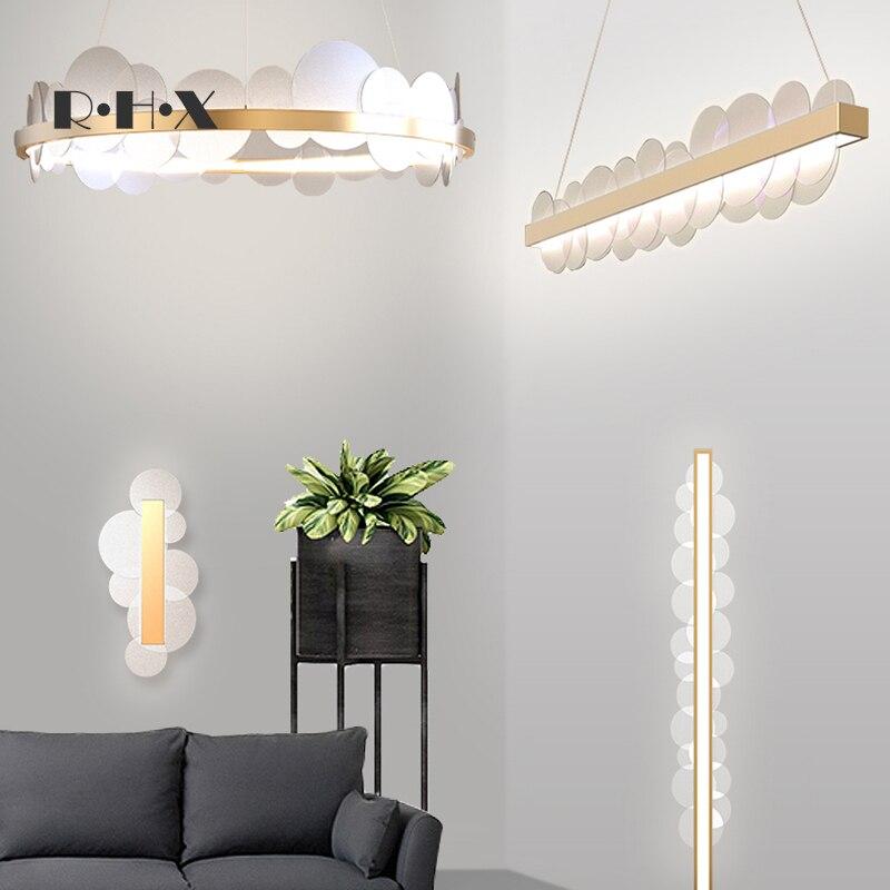 Modern Hanglamp Wood  Living Room  LED  Pendant Lights