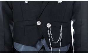 Image 5 - Disfraz de Anime Black Butler 2 Kuroshitsuji Sebastian Michaelis, uniforme Unisex